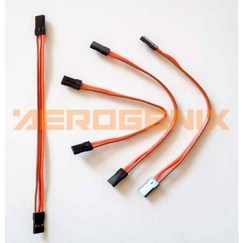 Cable macho-macho de 15 cm con conectores de servo (4 unidades)