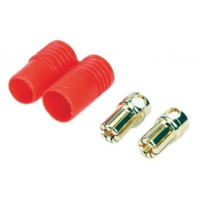 Conectores G6 macho con protección de polaridad (1 conector)