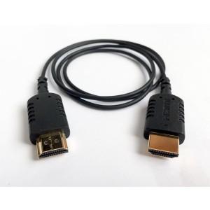 Cable extrafino HDMI a HDMI Mini (80 cm)