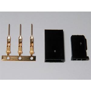 Conector de servo hembra (5 unidades)