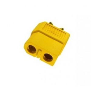 Conectores dorados XT60 hembra (10 unidades)
